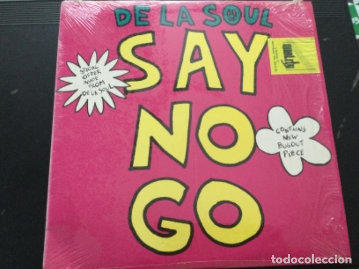 DE LA SOUL - SAY NO GO (Música - Discos de Vinilo - Maxi Singles - Rap / Hip Hop)