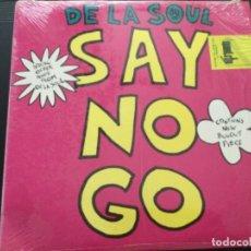 Discos de vinilo: DE LA SOUL - SAY NO GO. Lote 248580315