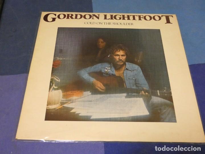 BOH13 LP UK 75 MUY BUEN ESTADO GENERAL GORDON LIGHTFOOT COLD ON THE SHOULDER (Música - Discos - LP Vinilo - Pop - Rock - Internacional de los 70)