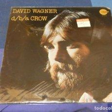Discos de vinilo: BOH13 LP USA 72 CAMARET RECORDS DAVID WAGNER D/B/A CROW AUN SELLADO. Lote 248584005