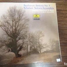 "Discos de vinilo: LP BEETHOVEN ""SINFONIA Nº5. Lote 248584115"