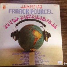 Discos de vinilo: LP FRANCK POURCEL (3 LPS). Lote 248594775