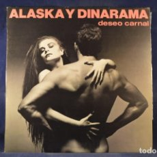 Dischi in vinile: ALASKA Y DINARAMA - DESEO CARNAL - LP. Lote 248595460