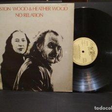 Discos de vinilo: ROYSTON WOOD & HEATHER WOOD - NO RELATION --EDICION ESPAÑOLA 1978 PEPETO. Lote 248595550