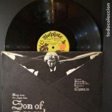 Discos de vinilo: SONG OF DRACULA LP BSO H.NILSON-RINGO STARR-BEATLES LP SPA CARATULA ORIGINAL SPAIN 1974 PEPETO. Lote 248613465