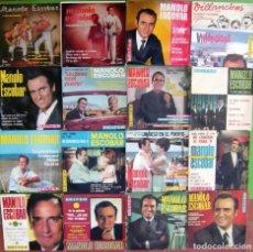 Discos de vinilo: LOTE DE 17 EPS DE MANOLO ESCOBAR. Lote 248626290