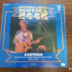 """Discos de vinilo: LP SANTANA """"HISTORIAS DEL ROCK"""". Lote 248628840"""