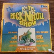 Discos de vinilo: LP K-TEL ROCK AND ROLL SHOW. Lote 248629405