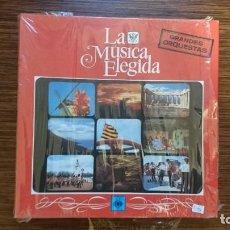 Discos de vinilo: LP LA MUSICA ELEGIDA (4 LPS). Lote 248631015