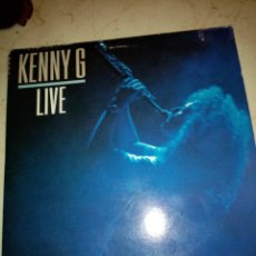 Dischi in vinile: KENNY G LIVE. VINILO LP DOBLE. BUEN ESTADO.. Lote 248642820