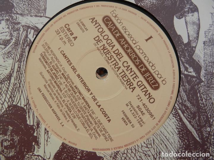 Discos de vinilo: ANTOLOGÍA DEL CANTE GITANO DE NUESTRA TIERRA-MANUEL TORRE A ANTONIO MAIRENA - JUAN VALDES - 7 LPS .. - Foto 6 - 248687640