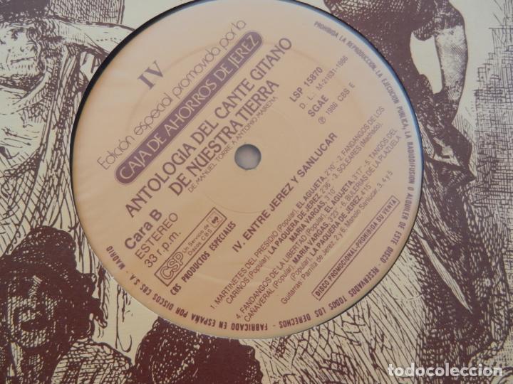 Discos de vinilo: ANTOLOGÍA DEL CANTE GITANO DE NUESTRA TIERRA-MANUEL TORRE A ANTONIO MAIRENA - JUAN VALDES - 7 LPS .. - Foto 12 - 248687640