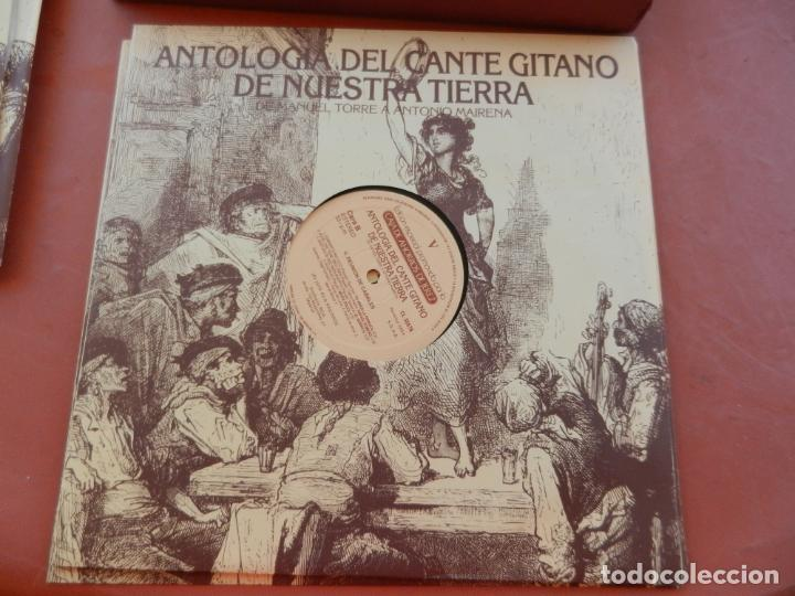 Discos de vinilo: ANTOLOGÍA DEL CANTE GITANO DE NUESTRA TIERRA-MANUEL TORRE A ANTONIO MAIRENA - JUAN VALDES - 7 LPS .. - Foto 13 - 248687640
