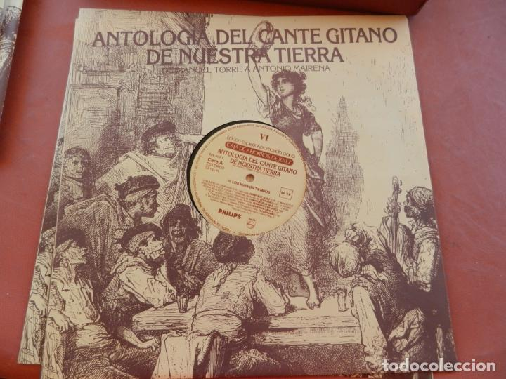 Discos de vinilo: ANTOLOGÍA DEL CANTE GITANO DE NUESTRA TIERRA-MANUEL TORRE A ANTONIO MAIRENA - JUAN VALDES - 7 LPS .. - Foto 15 - 248687640