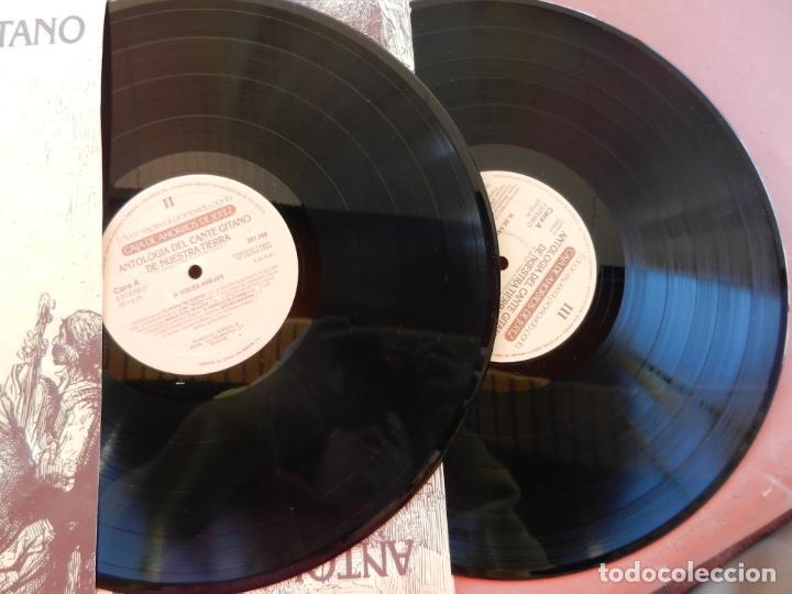 Discos de vinilo: ANTOLOGÍA DEL CANTE GITANO DE NUESTRA TIERRA-MANUEL TORRE A ANTONIO MAIRENA - JUAN VALDES - 7 LPS .. - Foto 20 - 248687640
