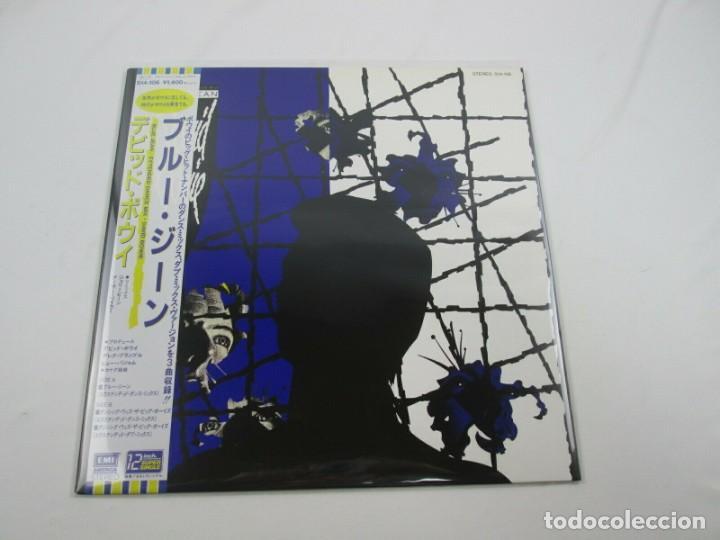 VINILO EDICIÓN JAPONESA DEL VINILO DE DAVID BOWIE - BLUE JEAN (Música - Discos - LP Vinilo - Pop - Rock - New Wave Internacional de los 80)