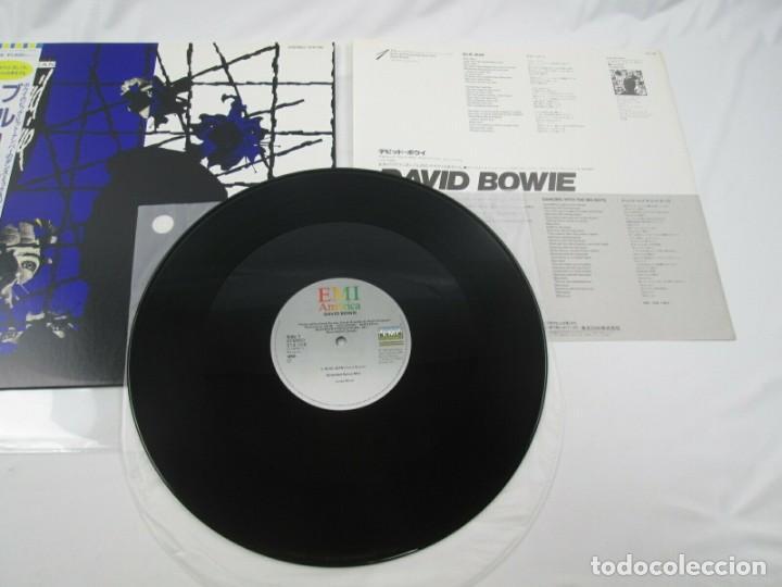 Discos de vinilo: VINILO EDICIÓN JAPONESA DEL VINILO DE DAVID BOWIE - BLUE JEAN - Foto 4 - 248695555