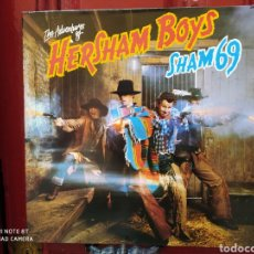 Discos de vinilo: SHAM 69 -THE ADVENTURES OF HERSHAM BOYS. LP ORIGINAL 1979 EDICIÓN FRANCIA - PERFECTO ESTADO -. Lote 248702875