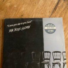 Discos de vinilo: VINILO LP JEAN JACQUES GOLDMAN - ENTRE GRIS CLAIR ET GRIS FONCÉ- 1987. Lote 248703290
