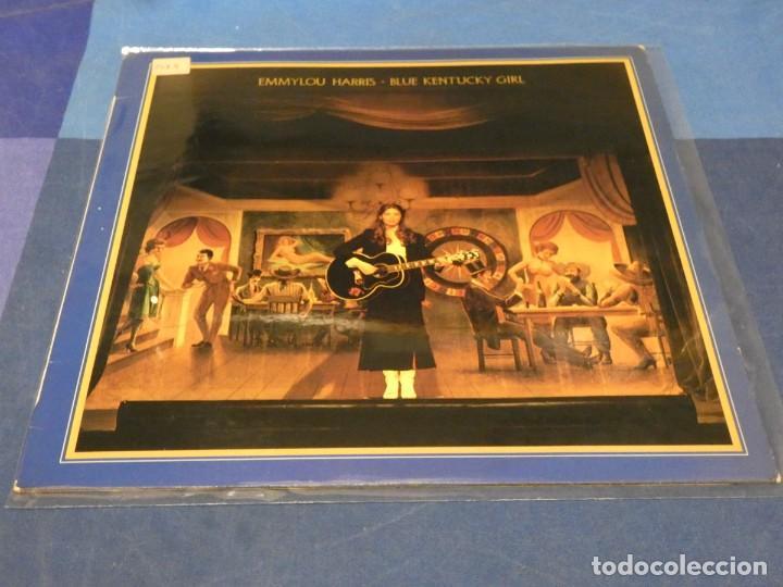 EXPRO LP EMMYLOU HARRIS BLUE KENTUCKY GIRL ESPAÑA 1979 BUEN ESTADO GENERAL (Música - Discos - LP Vinilo - Pop - Rock - Internacional de los 70)