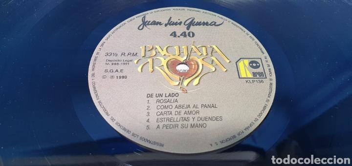 Discos de vinilo: BACHATA ROSA - JUAN LUIS GUERRA 4.40 - 1990 - Foto 3 - 248706580