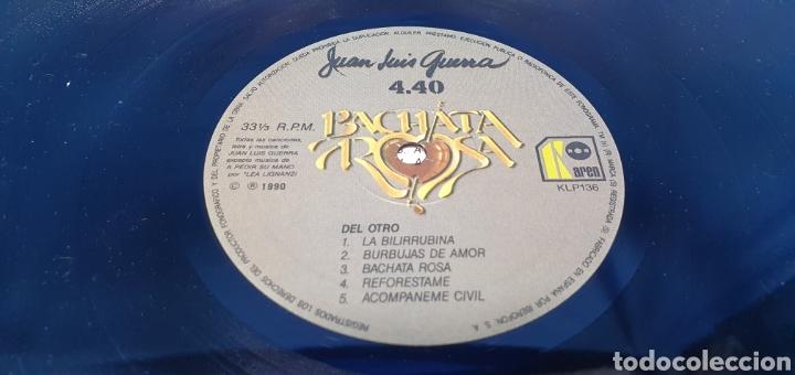 Discos de vinilo: BACHATA ROSA - JUAN LUIS GUERRA 4.40 - 1990 - Foto 6 - 248706580