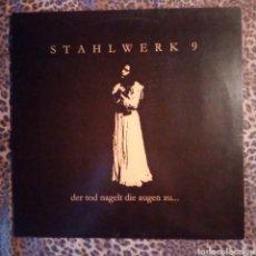 Discos de vinilo: STAHLWERK 9 - DER TOD NAGELT DIE AUGEN ZU - VINILO MARRON - INDUSTRIAL. Lote 248711360