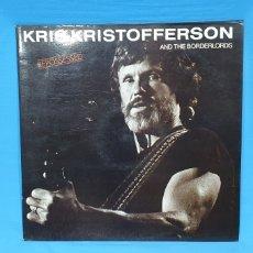 Discos de vinilo: REPOSSESSED - KRIS KRISTOFFERSON AND THE BORDERLORDS - 1987. Lote 248721835