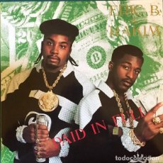Discos de vinilo: ERIC B. & RAKIM ‎– PAID IN FULL -LP-. Lote 261565850