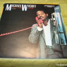 Discos de vinilo: MICHAEL WYCOFF. TELL ME LOVE. RCA, 1983. MAXI-SINGLE PROMOCIONAL. IMPECABLE (#). Lote 248776025