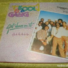 Discos de vinilo: KOOL & THE GANG. GET DOWN ON IT. RCA, 1982. MAXI-SINGLE. PROMOCIONAL. (#). Lote 248776535