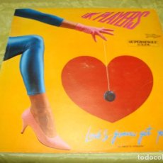 Discos de vinilo: UK PLAYERS. LOVE´S GONNA GET YOU. RCA, 1984. MAXI-SINGLE. PROMOCIONAL. IMPECABLE(#). Lote 248777935