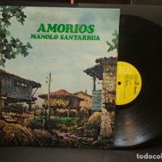 Discos de vinilo: MANOLO SANTARRUA. AMORÍOS. RCA, ESP. 1981 LP ASTURIAS COMO NUEVO¡¡ PEPETO. Lote 248789525