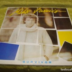 Discos de vinilo: MIKE FRANCIS. SURVIVOR. RCA, 1984. MAXI-SINGLE. PROMOCIONAL (#). Lote 248790805