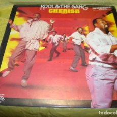 Discos de vinilo: KOOL & THE GANG. CHERISH. DE-LITE, 1985. MAXI-SINGLE. PROMOCIONAL. IMPECABLE (#). Lote 248792415