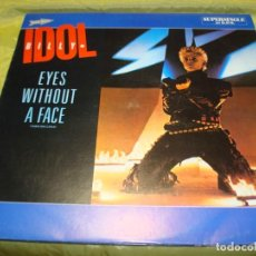 Discos de vinilo: BILLY IDOL. EYES WITHOUT A FACE. CHRYSALIS, 1984. MAXI-SINGLE. PROMOCIONAL. IMPECABLE (#). Lote 248793435