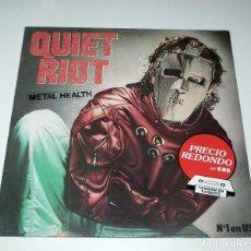 Discos de vinilo: LP QUIET RIOT - METAL HEALTH. Lote 248796315