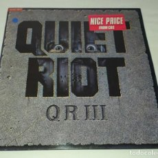 Discos de vinilo: LP QUIET RIOT - QR III. Lote 248797400