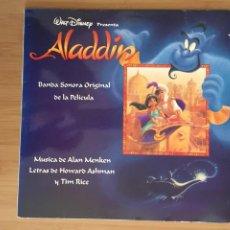 Discos de vinilo: ALADDIN. BANDA SONORA DE LA PELICULA. (VINILO LP 1993). Lote 248807795