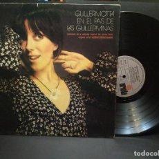 Discos de vinilo: LP - GUILLERMINA MOTTA - GUILLERMOTTA EN EL PAIS DE LAS GUILLERMINAS (SPAIN, ARIOLA 1972) PEPETO. Lote 248809675