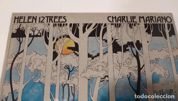 Discos de vinilo: CHARLIE MARIANO - HELEN 12 TREES -LP 1976. Firmado por el autor. - Foto 5 - 109026203