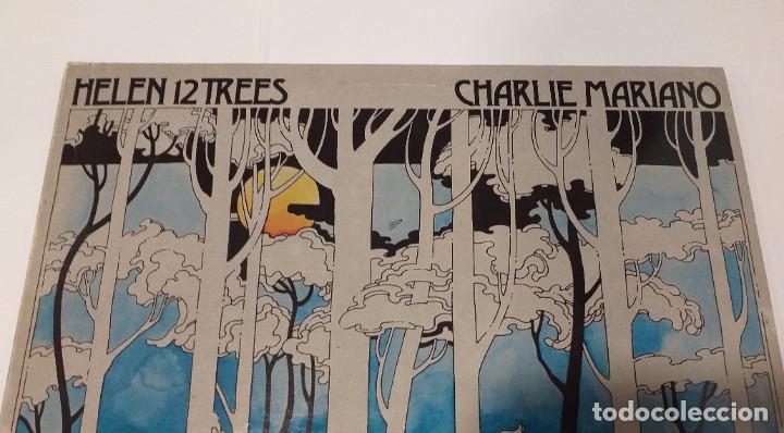 Discos de vinilo: CHARLIE MARIANO - HELEN 12 TREES -LP 1976. Firmado por el autor. - Foto 6 - 109026203