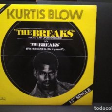 Discos de vinilo: KURTIS BLOW THE BREAKS LAS OPORTUNIDADES) MAXI 1980 ESPAÑA PEPETO. Lote 248812490
