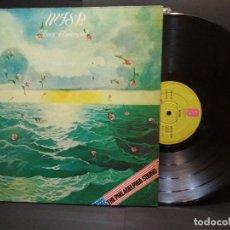 Discos de vinilo: MFSB AMOR UNIVERSAL LOVE LP 1975 SPAIN GATEFOLD PHILADELPHIA PEPETO. Lote 248814585