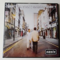Discos de vinilo: OASIS LP DOBLE WHAT'S THE STORY MORNING GLORY REED 2014 PRECINTADO. Lote 248945525