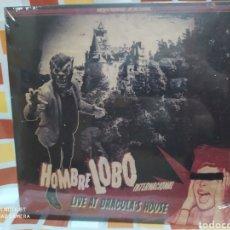 Discos de vinilo: HOMBRE LOBO INTERNACIONAL–LIVE AT DRACULA'S HOUSE. LP VINILO PRECINTADO. 10 PULGADAS.. Lote 248946000