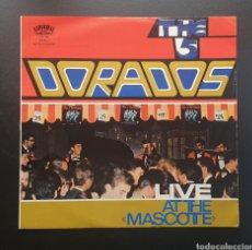 Discos de vinilo: LP THE 5 DORADOS - LIVE AT THE MASCOTTE (SUIZA - LAYOLA - 1965) RARE SWISS GARAGE BEAT THE SEVENS. Lote 248950385
