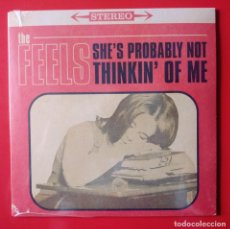 Disques de vinyle: SINGLE THE FEELS. SHE'S PROBABLY NOT THINKIN OF ME. Lote 248950860