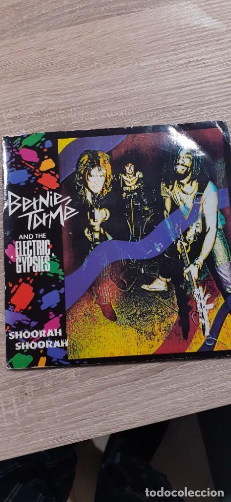 BERNIE TORME AND THE ELECTRIC GYPSIES DOBLE EP SHOORAH 4 TEMAS SEARCH AND DESTROY IGGY POP LIVE (Música - Discos - Singles Vinilo - Heavy - Metal)