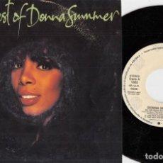Discos de vinil: DONNA SUMMER - ON THE RADIO - SINGLE DE VINILO EDICION ESPAÑOLA PROMOCIONAL. Lote 248962985